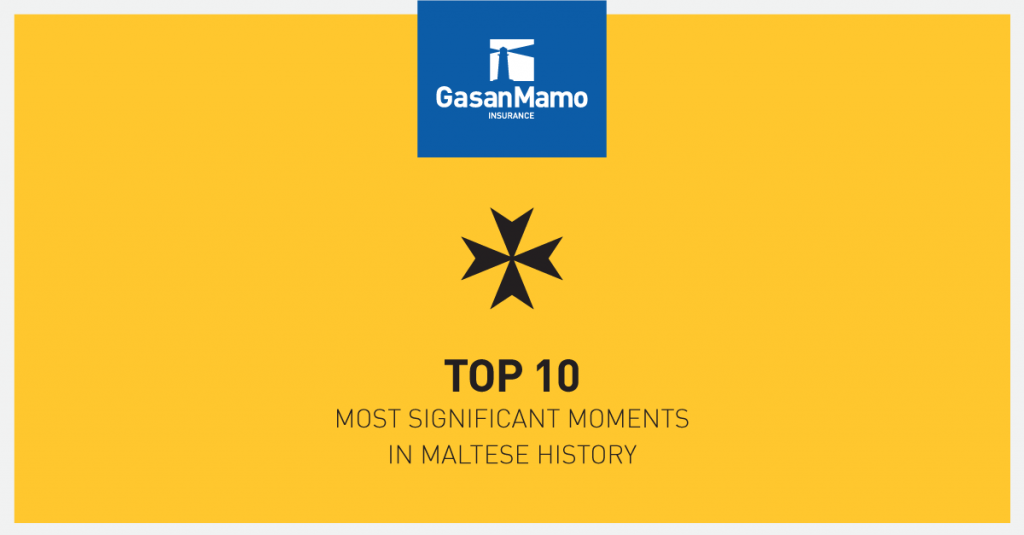 10 Moments in Maltese History
