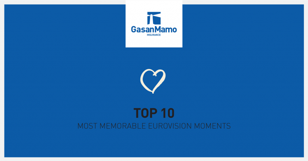 GasanMamo Insurance - Top 10 Eurovision Moments