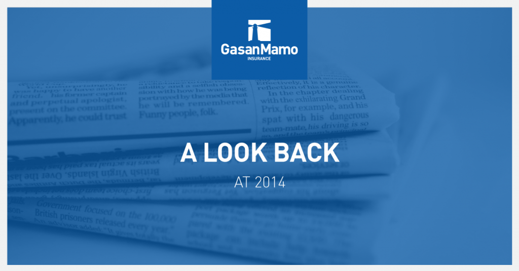 GasanMamo Insurance - A Look Back at 2014