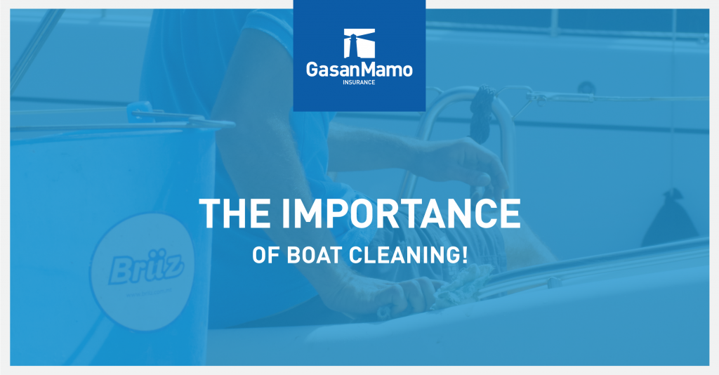 Boat Insurance Malta - The importance of boat cleaning