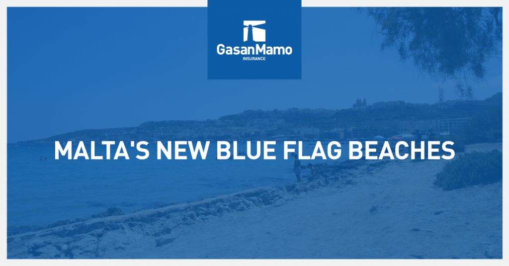 GasanMamo Insurance - Malta's Blue Flag Beaches