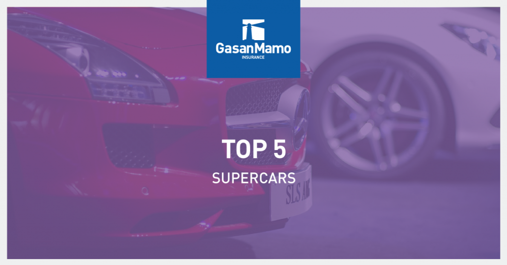 Motor Insurance Malta - Top 5 Most Expensive Supercars