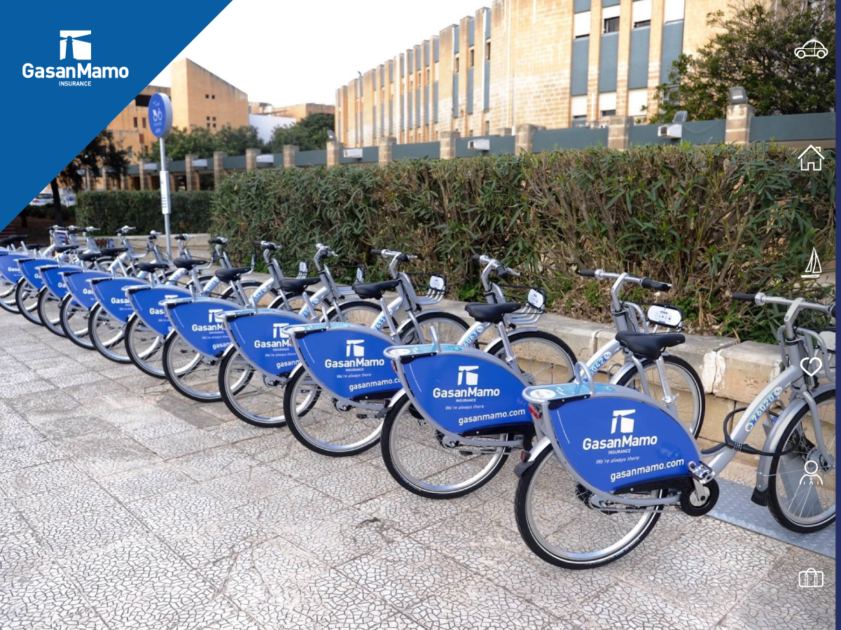 New Bike Sharing System For Malta