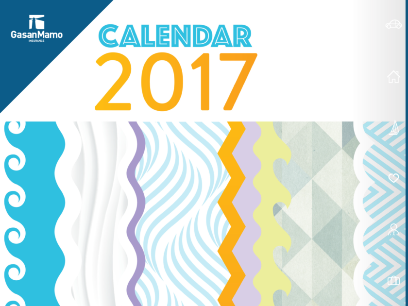 Motivational Calendar 2017