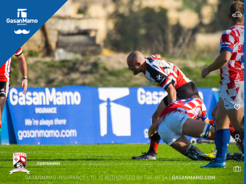 GasanMamo Insurance proud sponsors of Malta's success in the world of Rugby