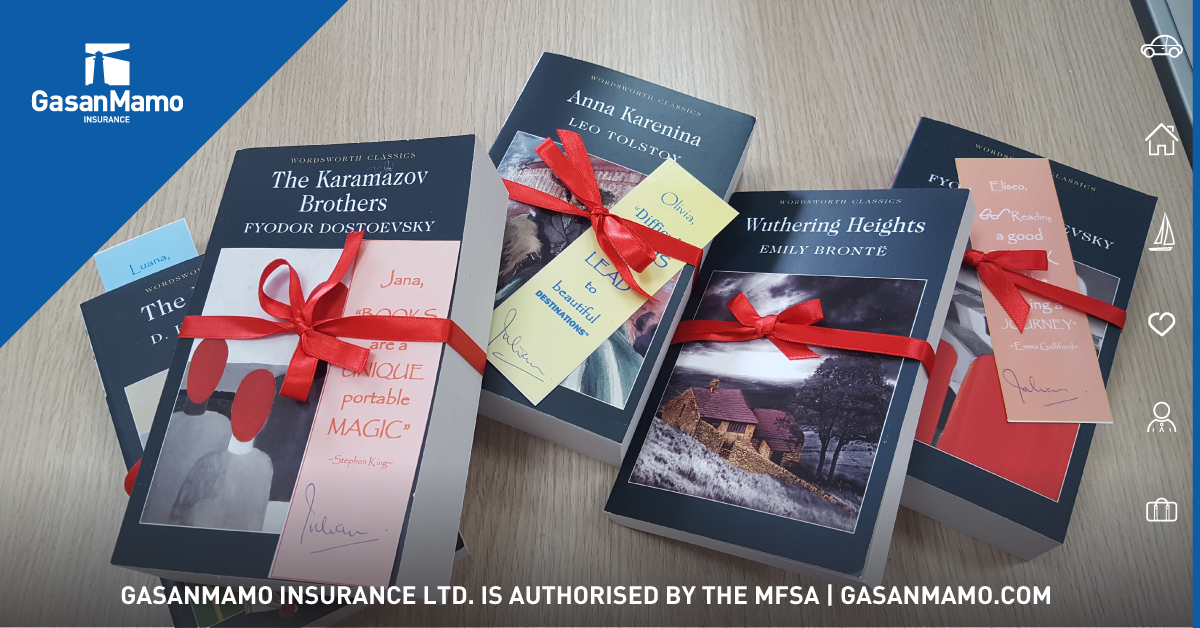 GasanMamo Insurance promotes reading