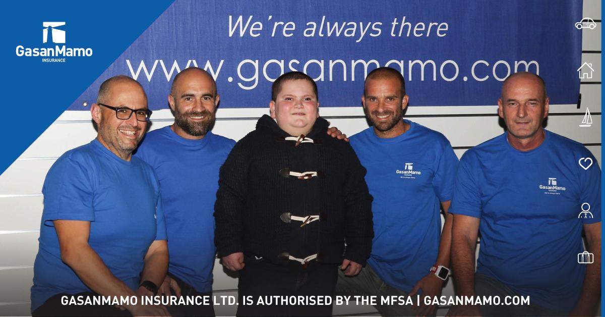 GasanMamo Insurance supports support Jake Vella