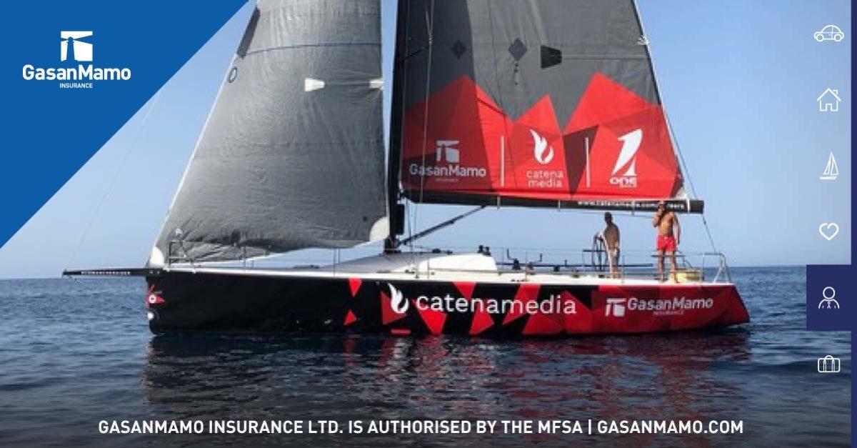 GasanMamo Insurance sails with Comanche Raider III