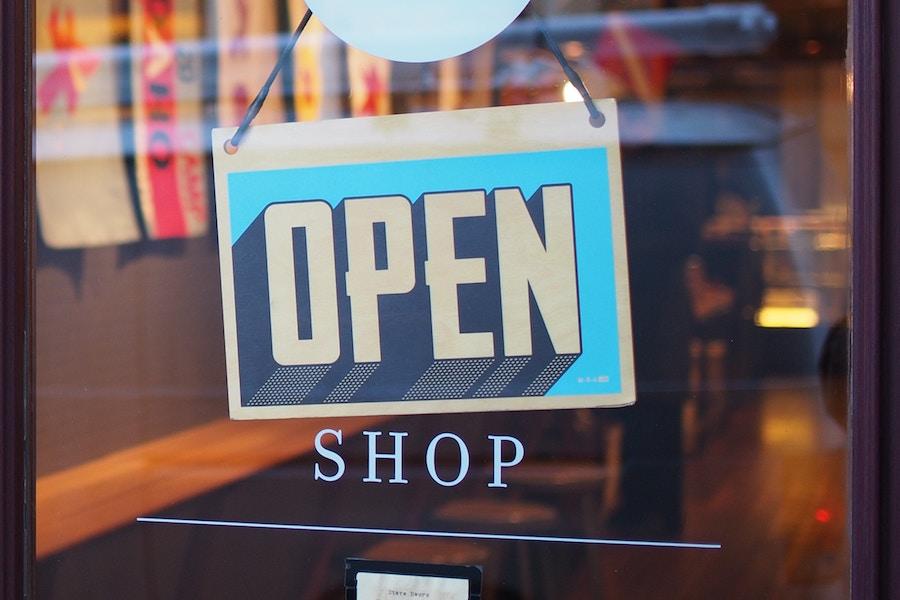 Shop Open