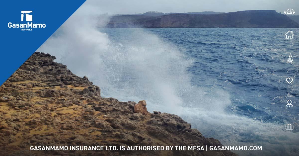 Malta Sea Waves