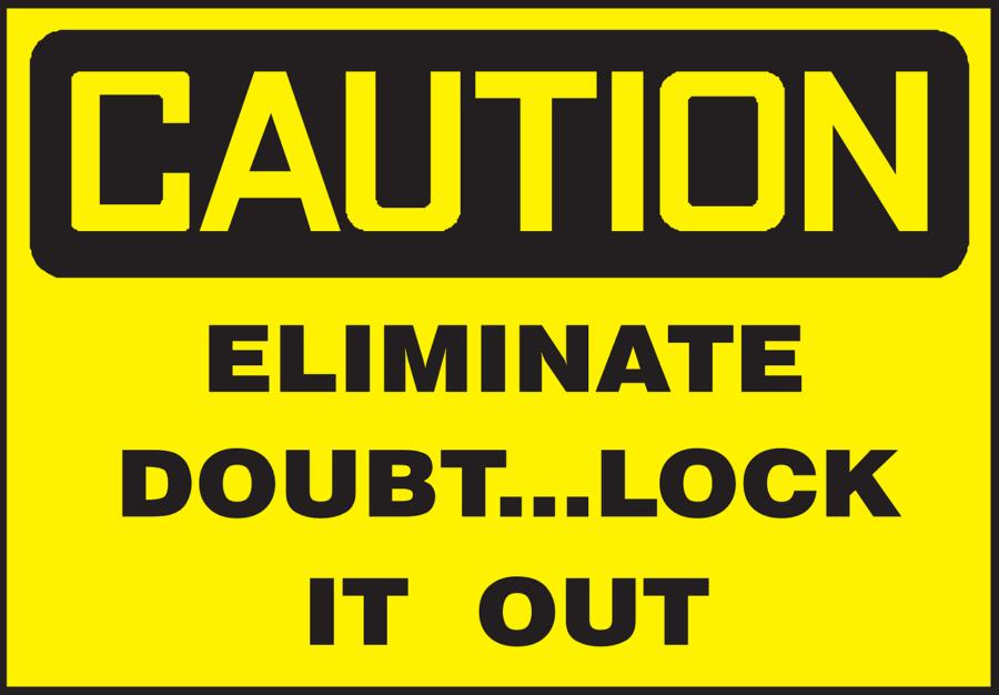 Eliminate Doubt