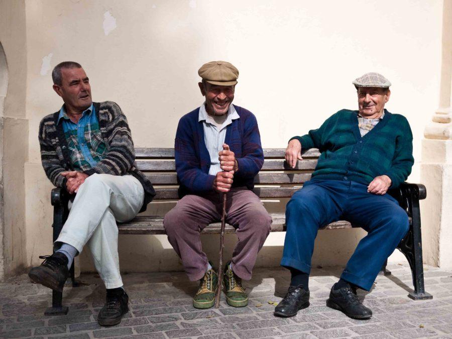 3 Maltese Old Men