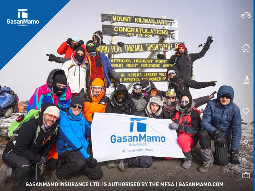 GasanMamo Kilomanjaro Challenge